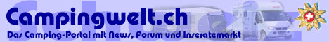 Campingwelt.ch ist eine Such- und Informationsseite. Die sich mit Themen wie Camping, Campingplätze, Wohnmobile und Wohnwagen beschäftigt. Mit Forum, News und Linkliste